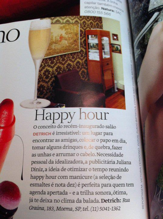 Revista Vogue - Novembro/11 Happy Hour