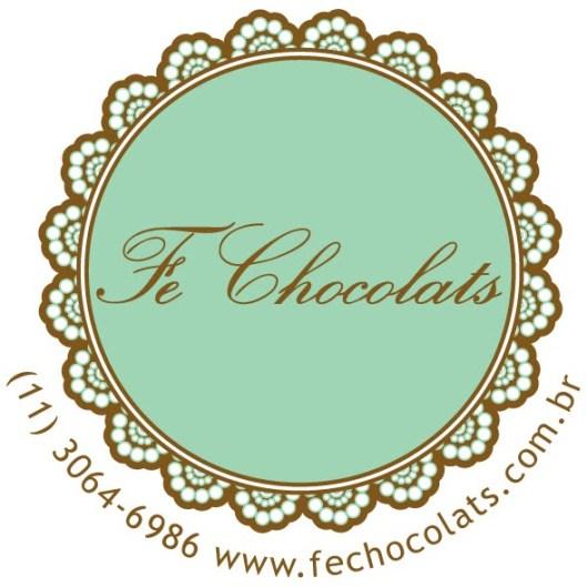 logo fe chocolats com infos contato